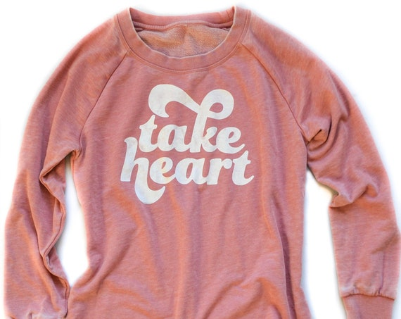 Take Heart Pullover