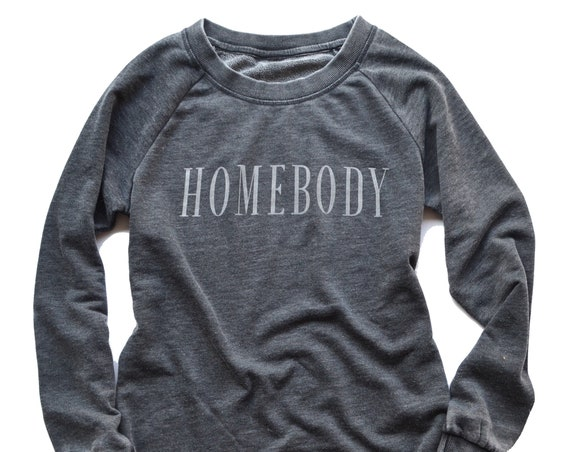 Homebody Sweatshirt Pullover - Dark