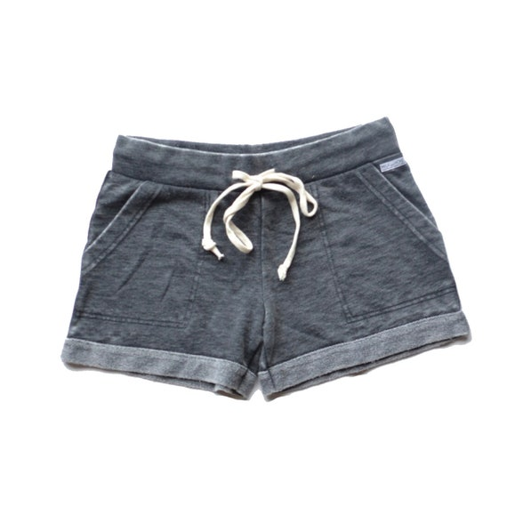 Gray Acid Wash Ultimate Lounge Shorts