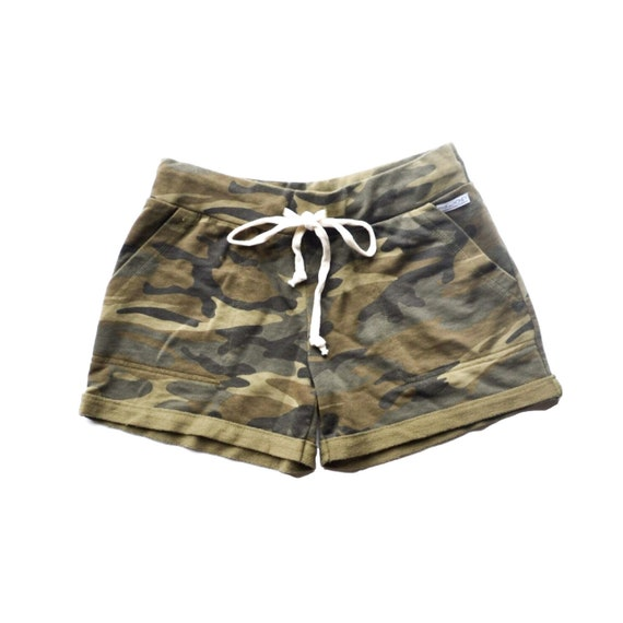 Camo Print Ultimate Lounge  Shorts