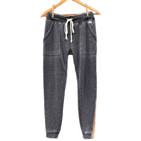 Ultimate French Terry Joggers - gray acid wash
