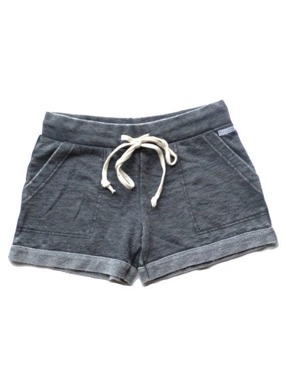 Ultimate French Terry Lounge Shorts - Gray Acid Wash