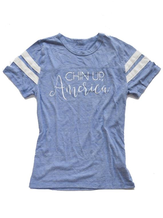 Chin Up, America Tee