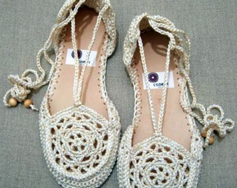 Summer Shoes Crochet Pattern