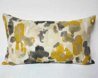 yellow brown pillow etsy rh etsy com