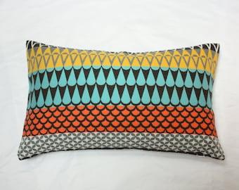 Brentano pillow, Majalis Baharat pillow cover, Brentano majalis pillow cover, sunbrella pillow, geometric motif pillow cover
