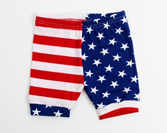 24f45ab55e Stars and Stripes Shorts Kids - Red White and Blue Toddler Shorts - Baby  4th of July Shorts - Boy or Girl