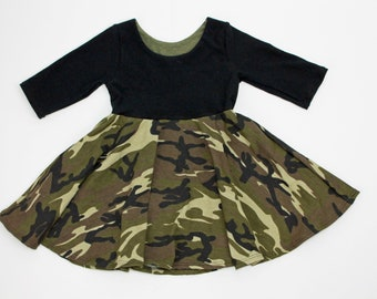 a00eee3ce5a5 Baby camo dress