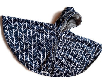 Minky Car Seat Poncho - Car Seat Safe Coat for Boys or Girls - Car Seat Poncho With Zipper or Snaps