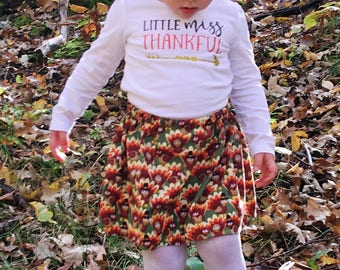 Thanksgiving Outfit Toddler Girl  - Turkey Outfit Baby Girl - Girls Fall Outfit