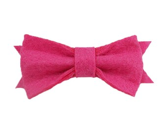 """Handmad 2"""" Baby //Toddler Saddle Stitch Korker Hair Bow with Non-Slip Clip UPICK"""