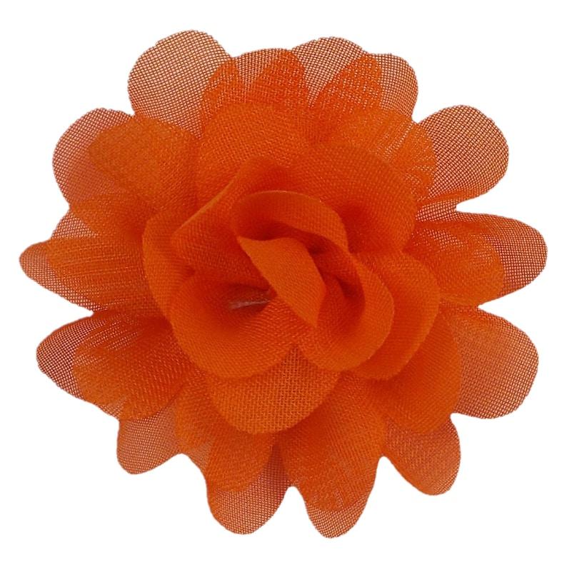 PCP-007 2.5 Petite Chiffon Puff Orange