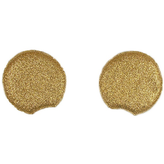 MMEX-002 Sequin Padded Mouse Ears Large Light Gold