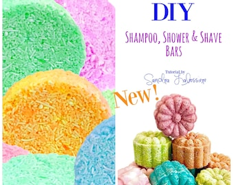 DIY Shampoo, Shower & Shave Bars - PDF E-Booklet