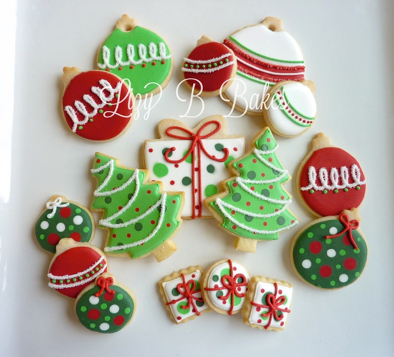 Trimming the Tree Christmas Cookies image 0