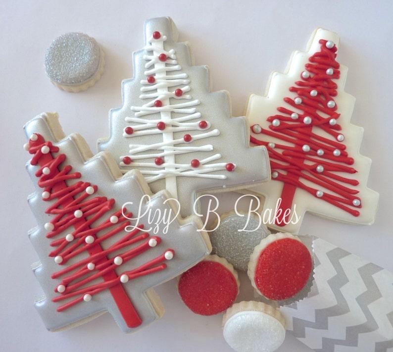 Modern Tree Christmas Cookies image 0