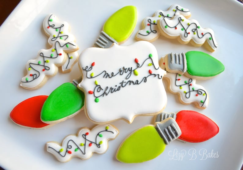 All Tangled Up Christmas Cookies image 0