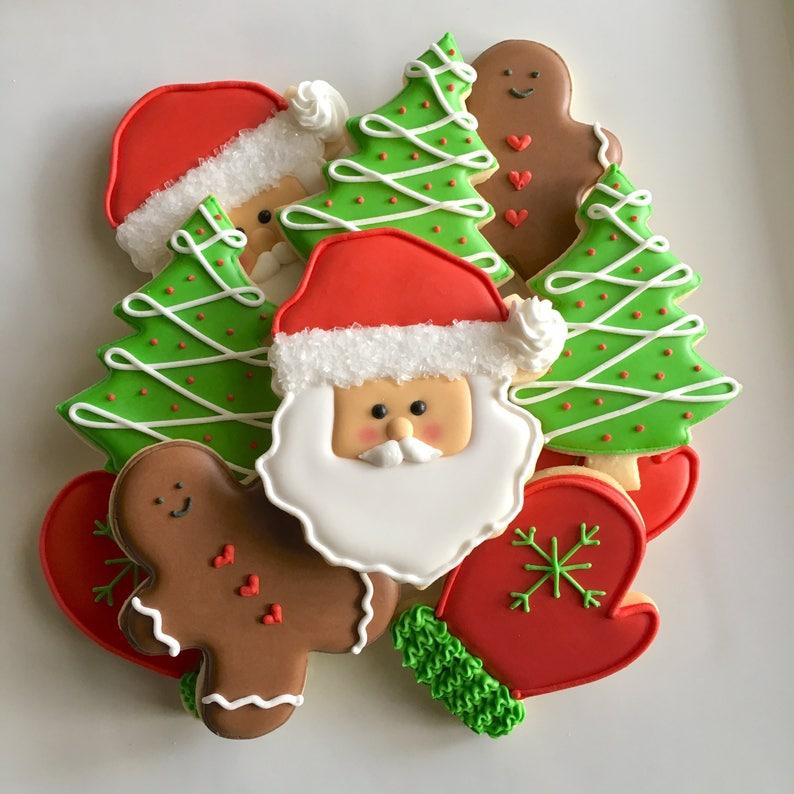 Santa's Merry Christmas Cookies image 0