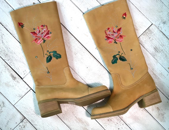 Vintage 1990s Boots/Deadstock Seychelles Boots/ ta