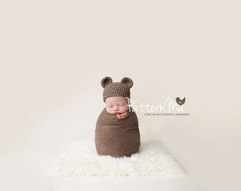 Crochet Baby Hat Pattern Bear #29