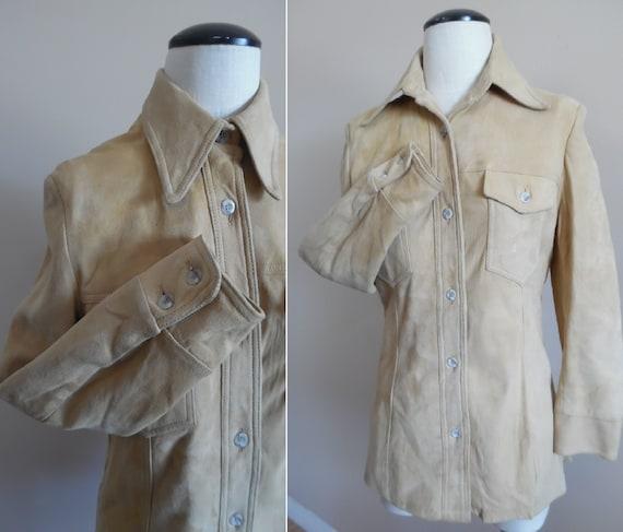 Vintage 1970s Eddie Bauer Womens Shirt Jac Chamois