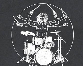Drums T Shirt Drums Shirt Saying Vintage Drums T Shirts Cool Drums Shirt  Funny Drum Set Tshirt Mens Womens Kids Da Vinci Drums Graphic Tee bef875c69