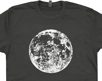 450aa9c633330 Full Moon Shirt Moon T Shirts Moon Graphic T Shirt Moon Phase Tee Astrology  tShirt Astronomy Shirt Tarot Card Shirt Mens Womens Ladies Kids