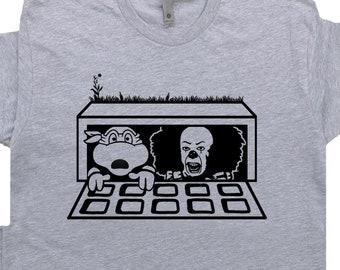 100/% Baumwolle Kurzarm Top Basic Print-Shirt Find Muck Comedy Shirts Rundhals Herren T-Shirt