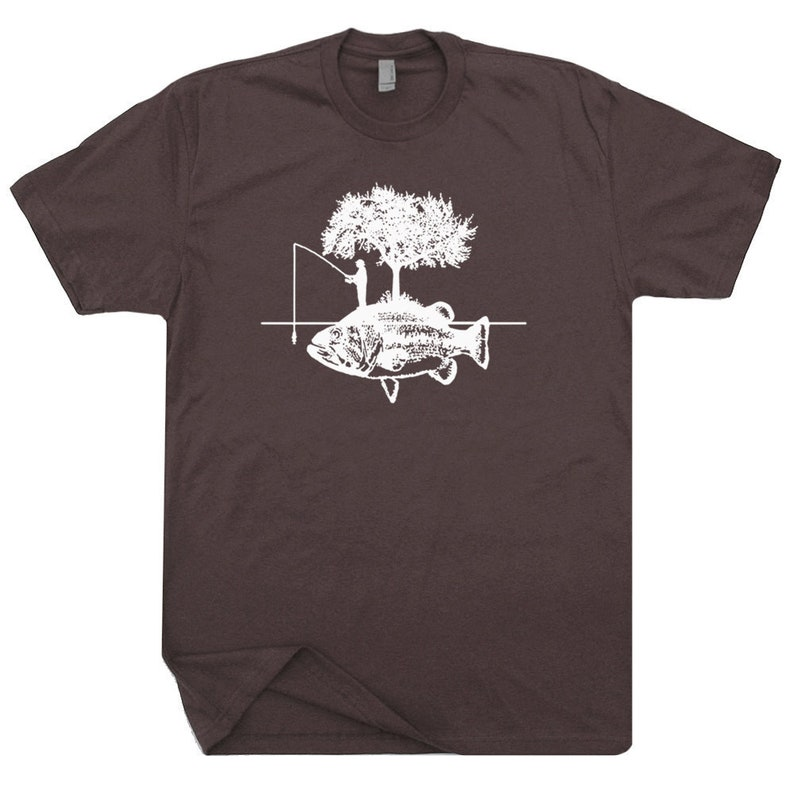 e79155297 Fishing Shirt Fisherman T Shirts Cool Funny Fishing Graphic | Etsy