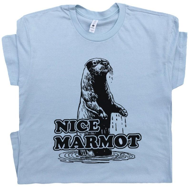 478b6b5ab895 Nice Marmot T Shirt The Big Lebowski Shirt Cool Movie Quote | Etsy