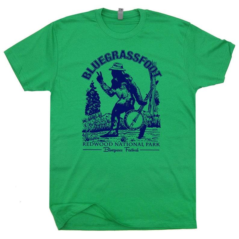 501d5f0b Bluegrassfoot Bluegrass T Shirt Banjo Shirts Cool Vintage | Etsy