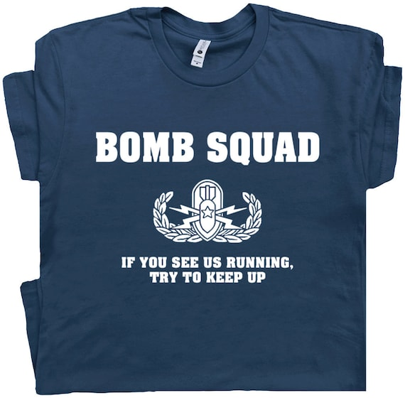 Bombe squad Drôle Slogan children/'s kids t shirt