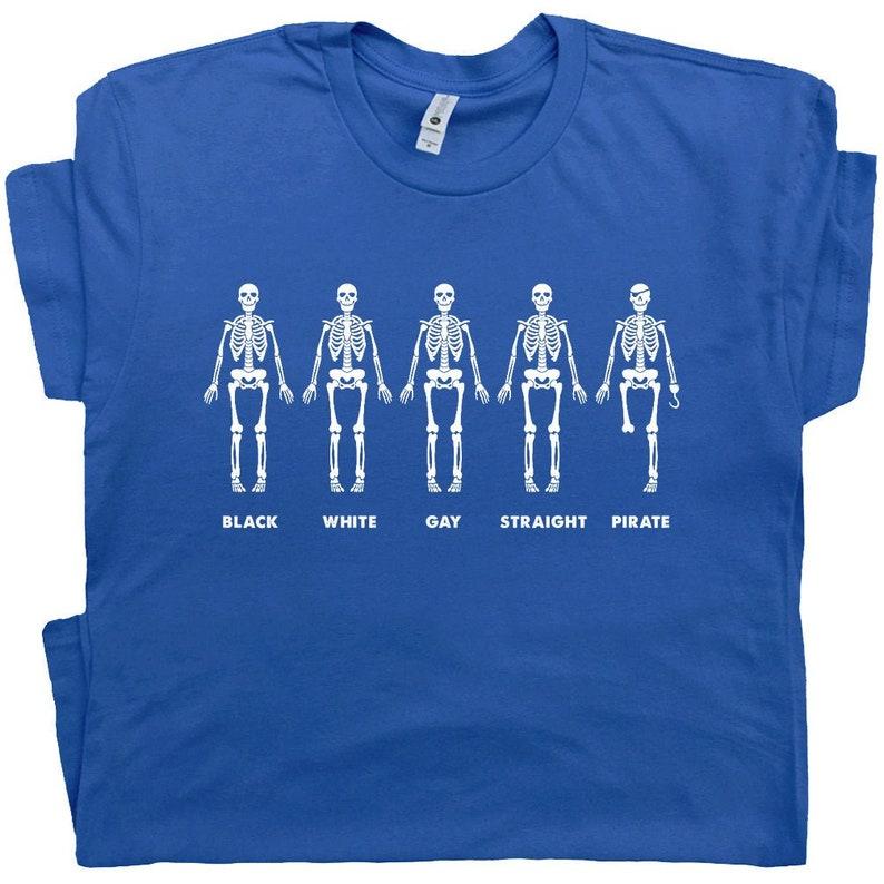 313fa5ad9e31 Gay Shirt Saying Black White Gay Straight Pirate T Shirt Funny   Etsy