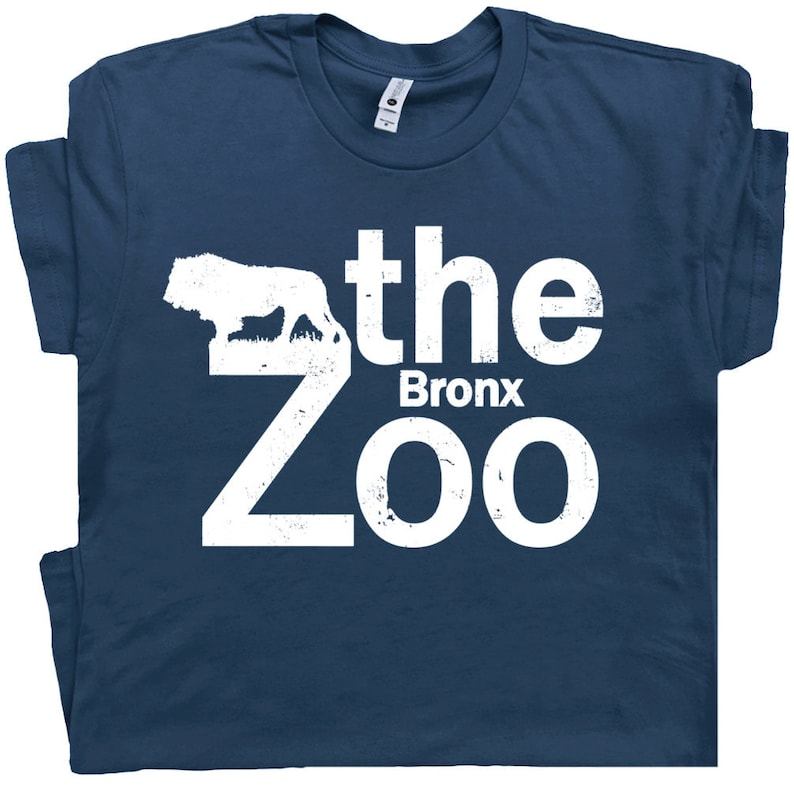 b760765ad The Bronx Zoo T Shirt Vintage New York City T Shirt Cool Graphic Tee Lion  Tee Retro Circus Hipster Animal For Mens Womens Kids