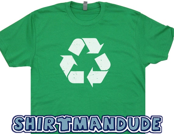 Recycle T Shirt Recycling Logo T Shirt Recycle Symbol Shirt Etsy