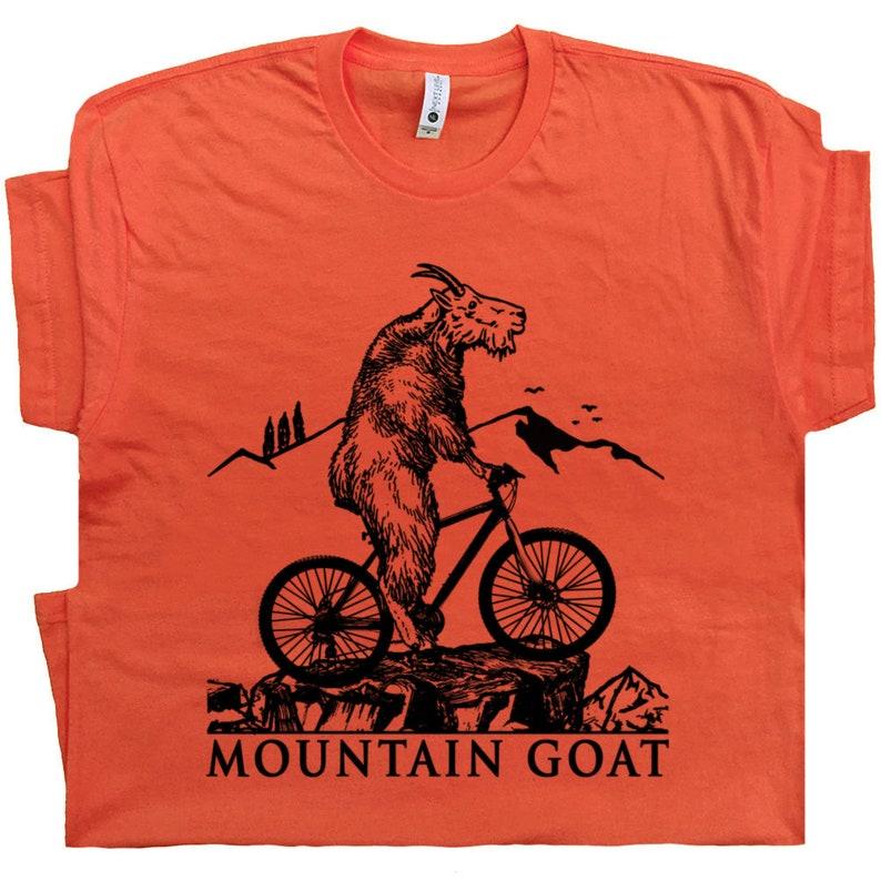 b7dc96166 Mountain Bike T Shirt Cool Mountain Biking Shirts Funny   Etsy
