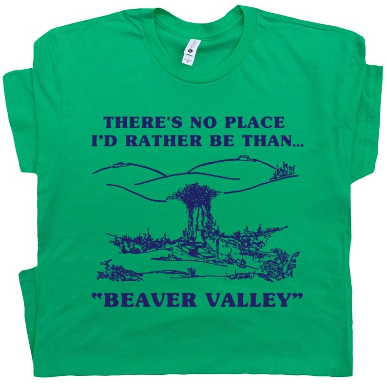 585392ab Beaver Valley Funny T Shirt Offensive T Shirts Rude Boobs | Etsy