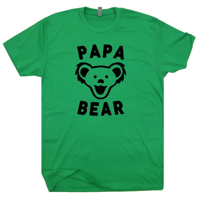 836d95b34830 Papa Bear T Shirt Papa Bear Shirts Papa Bear Tee shirt Fathers   Etsy