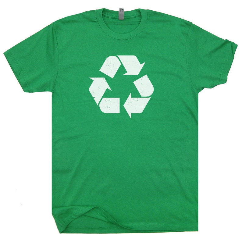 167f89ed Recycle T Shirt Recycling Logo T Shirt Vintage Recycle Symbol   Etsy