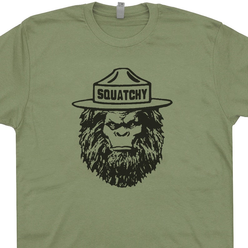 f1c0214897cae Time for finding Sasquatch dressed in Bigfoot shirts These bigfoot