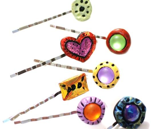 Colorful Bobby Pins, Hair Pins