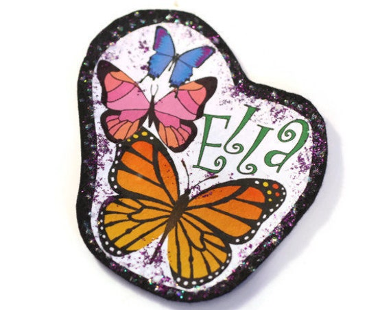 Personalized Butterfly Applique