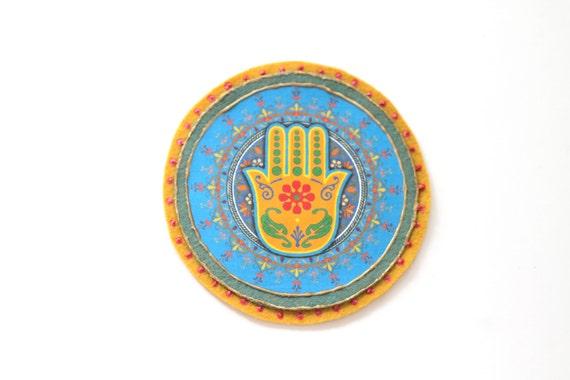 Applique   Patch   Sew On Applique   Patch for Jeans   Backpack Decoration   Monogram   Hamsa Sign   Glue On Applique   Accessory   Decor