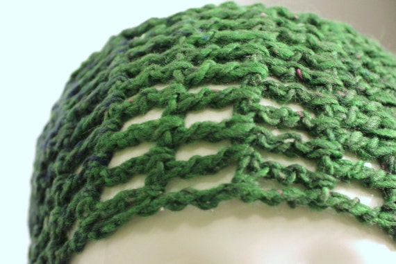 Chunky Crochet Cotton Headband, Headband for Workouts and Yoga, Hair Ties for the Beach