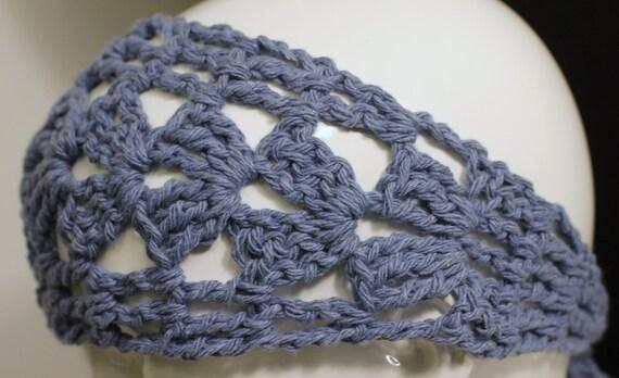 Cotton Hair Wrap   Crochet Boho Style Hair Band   Dreads Wrap   Yoga Hair Band   Exercise Hair Accessory   Summer Hair Accessories   Bunwrap