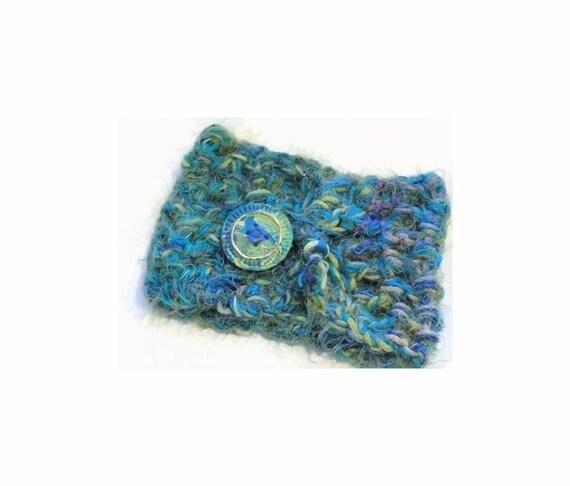 Scarf | Cowl | Neck | Warm | Winter Scarf | High Scarf | Coat Topper | Button Cowl Neck | Crochet Artisan Fibers | Unique Designer Scarf