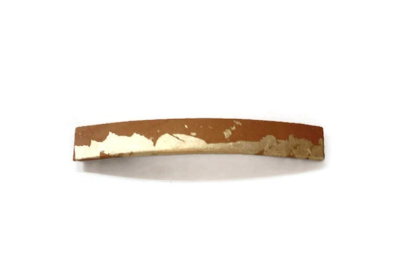 Slim Modern Copper/Brown Hair Clip