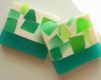 Juniper Soap, Glycerin Soap, Soap, Homemade soap, Spring Soap, Olive Oil Soap