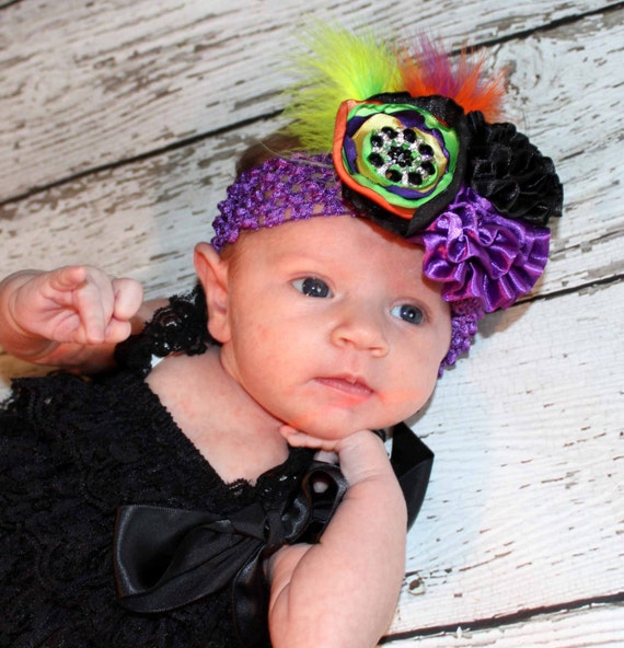 ffa3879c318 Sweet and Spooky Halloween Couture Headband Photo Prop