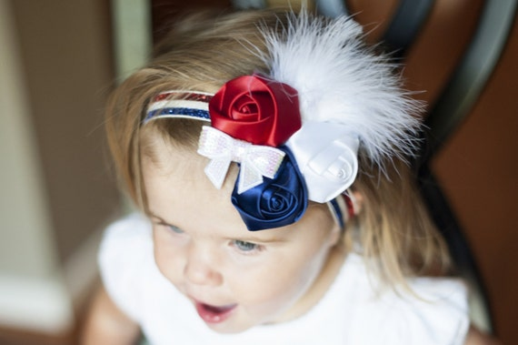 Independence Day   4th of July Patriotic Headband Fourth of  d6998d92d50b